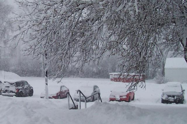 路政部门清扫易积雪结冰路段 城市快速路通行基本正常