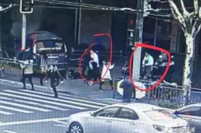南京西路面包车冲撞事件 热心店员获见义勇为先进称号