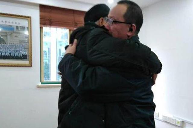 老人在上海找到40年前恩人家属 带儿求医时曾获资助