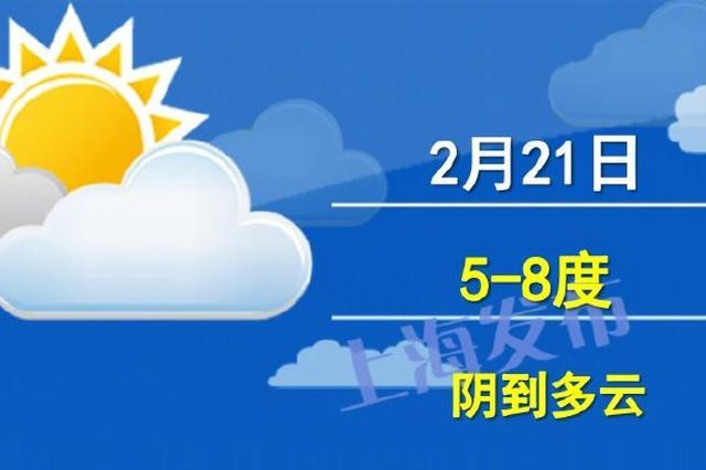 节后两天申城天气转好最高温15℃ 24日将现弱雨水天气