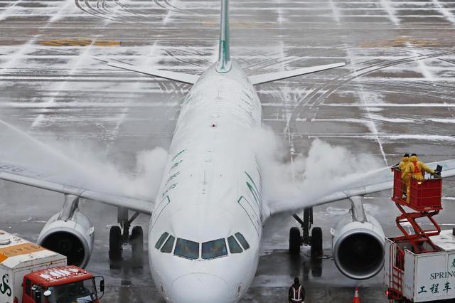 春节7天长假 上海两大机场客流量创历史新高