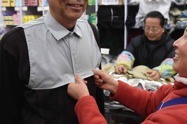 上海服饰之的确良与假领头:为服饰添姿加彩功不可没