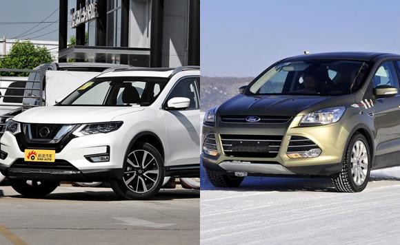 福特翼虎对比日产奇骏,这俩车该咋选?