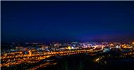 晋东桃河 越夜越美丽