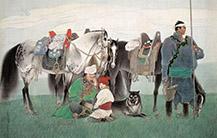 马背上的民族