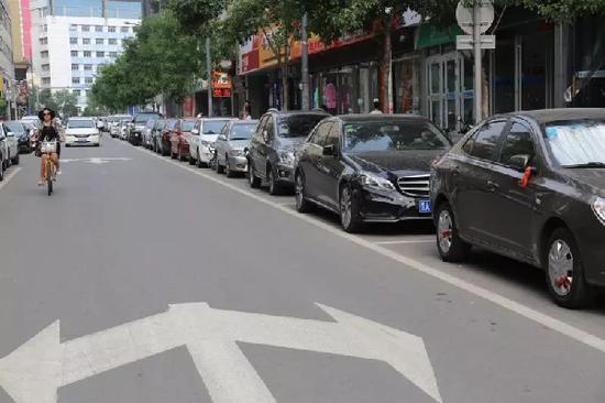 小街巷交通综合治理后