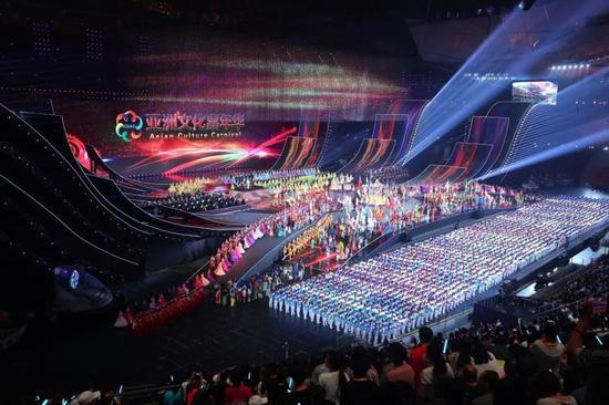 亚洲文化嘉年华在京举行(新华社记者张玉薇 摄)