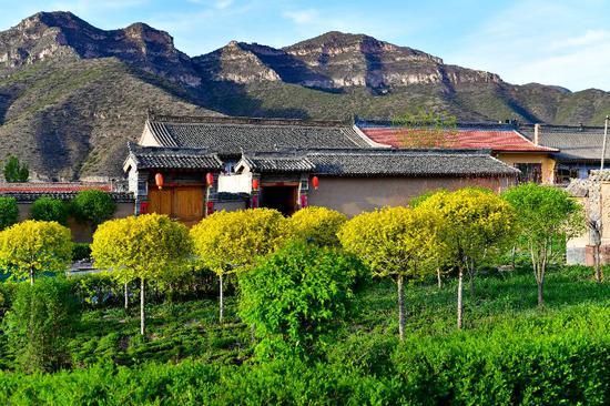 这是5月9日拍摄的山西省忻州市岢岚县宋家沟村的房屋。 新华社记者 曹阳 摄