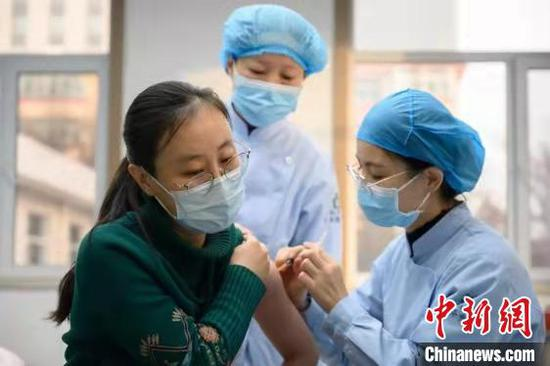 山西新冠病毒疫苗接種點將增至2000個。 范麗芳 攝
