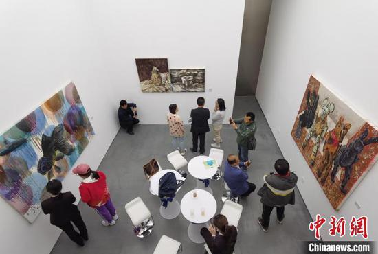 中国当代艺术家绘画作品太原展出