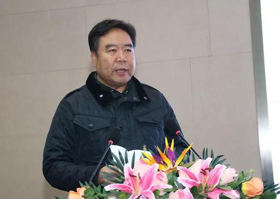 △山西省文联党组书记、常务副主席郭健讲话并宣布展览开幕