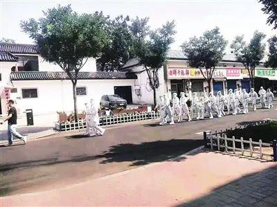 太原市19小时排除老军营小区疫情风险纪实