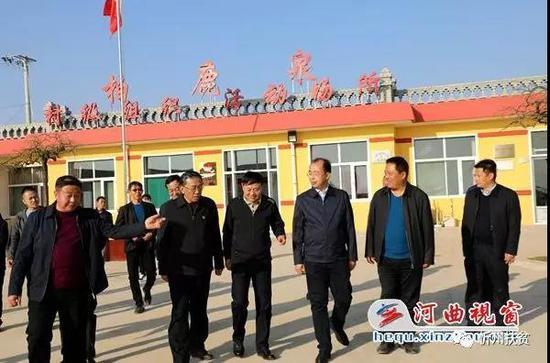 省扶贫办党组书记、主任刘志杰在河曲县调研指导脱贫攻坚工作