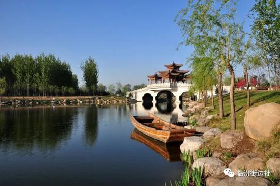 涝巨河、汾河、古城公园
