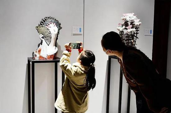 """全国雕塑名家作品邀请展在""""彩塑之都""""长治开幕"""