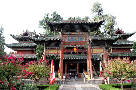 全国武庙之首:解州关帝庙