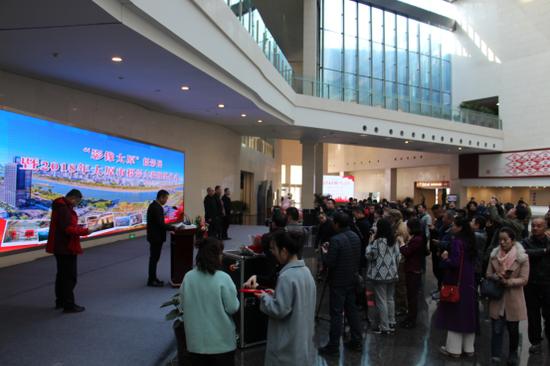 """3月7日上午,""""影像太原""""——""""大美太原""""系列摄影大赛优秀作品展在太原美术馆开展。"""