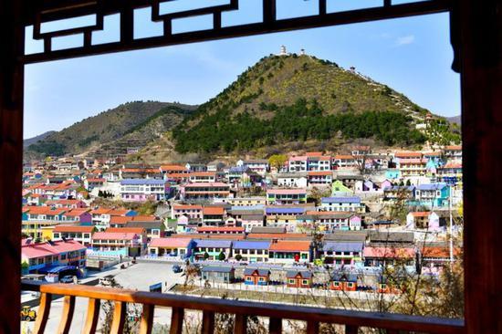 这是4月21日拍摄的山西省壶关县南平头坞村。 新华社记者 曹阳 摄