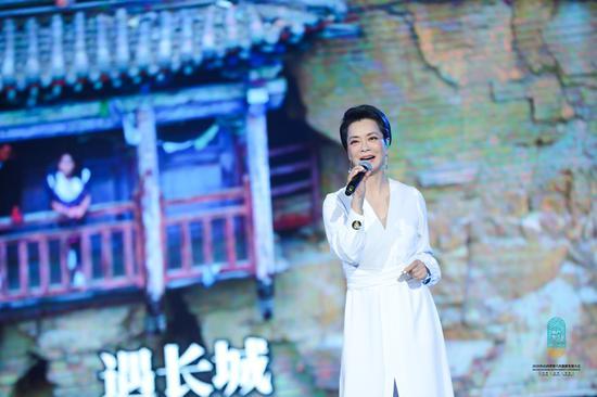 毛阿敏首次现场演绎山西省第六次旅发大会原创主题曲《现在就出发》