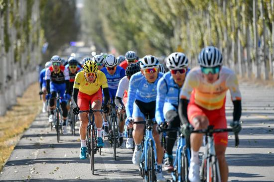 2020第二届环太原国际公路自行车赛长城赛段开赛