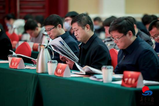 山西省实施希望工程30周年报告会现场