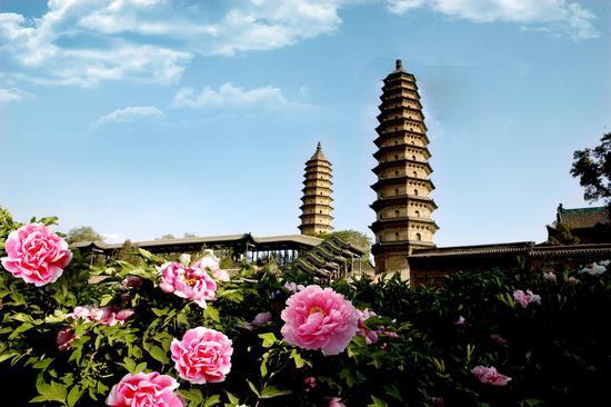 太原雙塔寺。圖源:太原市文化和旅游局
