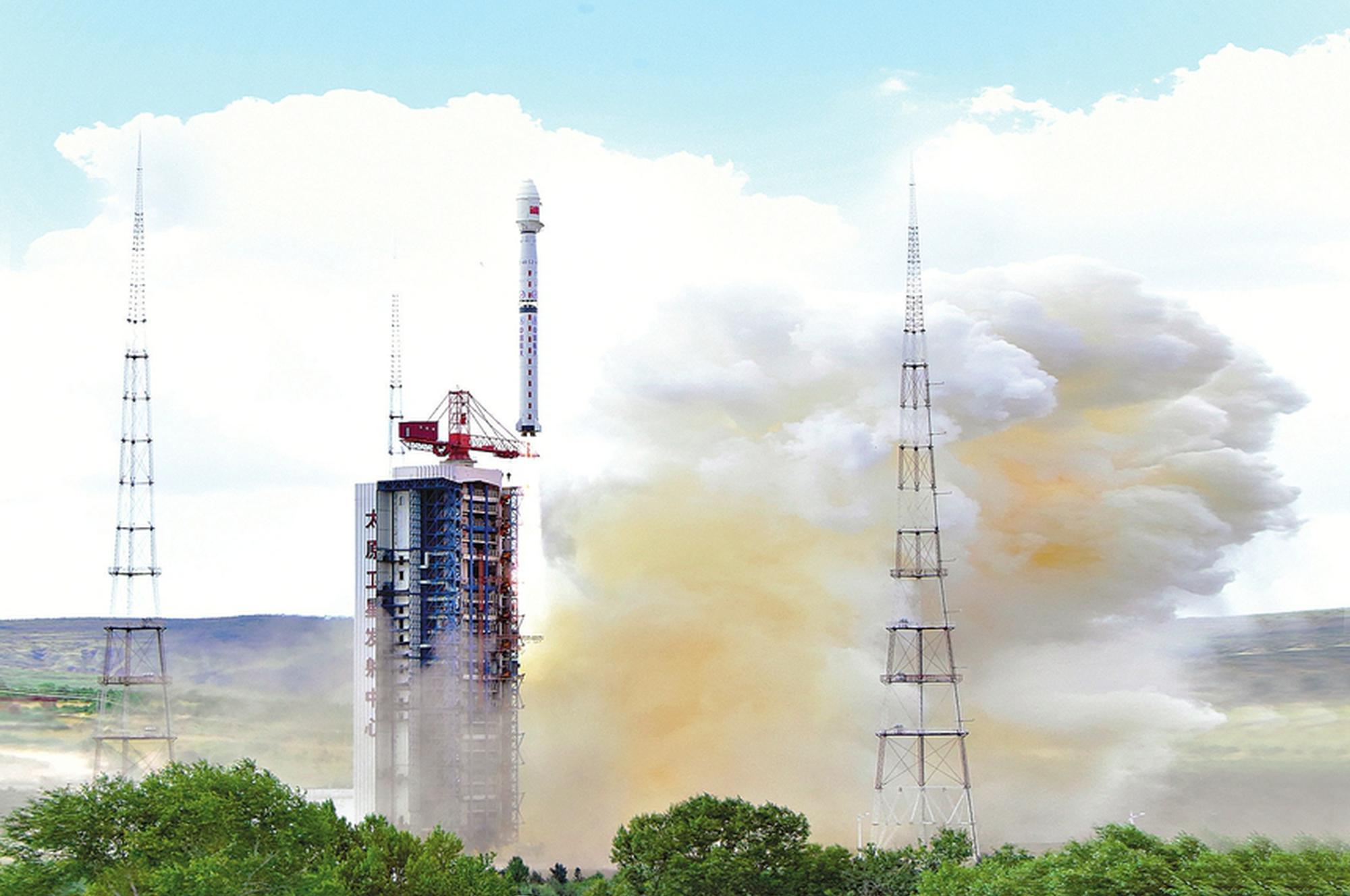 高分十一号02星在山西太原发射成功!