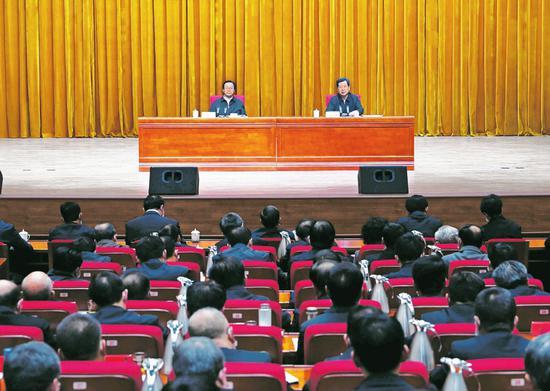 学习贯彻十九届五中全会精神中央宣讲团报告会举行