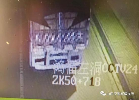 货车司机故意损坏高速测速设备 山西交警48小时破案