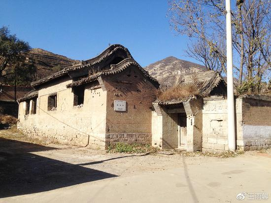 歇马殿,位于西关口村村北