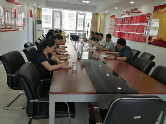 山西省市场监督管理局调研组在临汾市调研