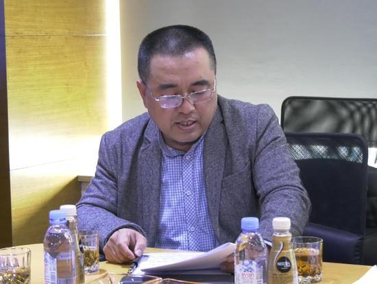 刘维东:山西大学美术学院院长、教授书法博士