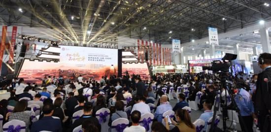 第四屆山西(汾陽·杏花村)世界酒文化博覽會現場
