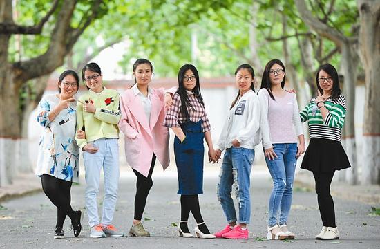 即将开启研究生生活的七姐妹