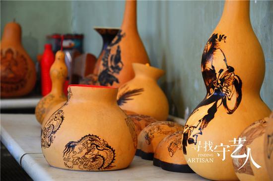 艺术葫芦手工制作