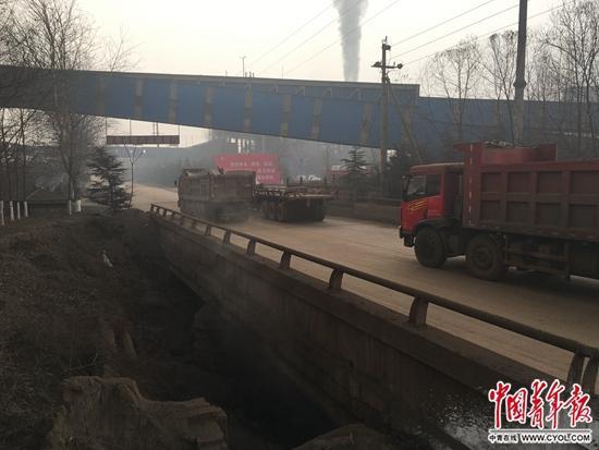 立恒钢厂周边。中国青年报·中青在线记者 胡志中/摄