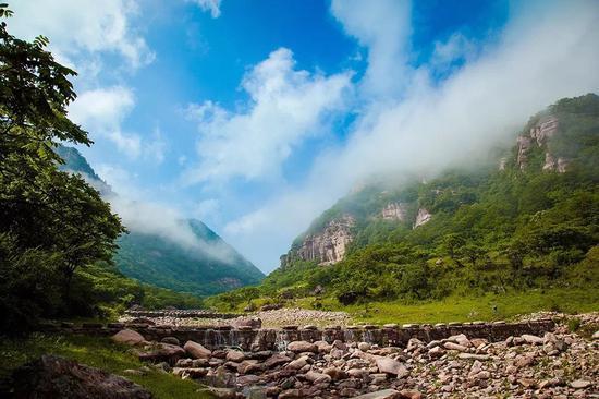 沁水历山国家森林公园景色
