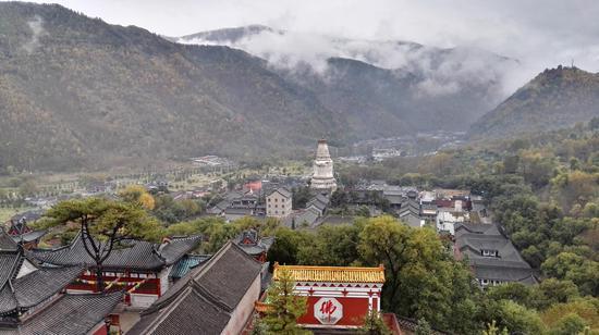 山西文化旅游资源丰富 图为大美山西五台山