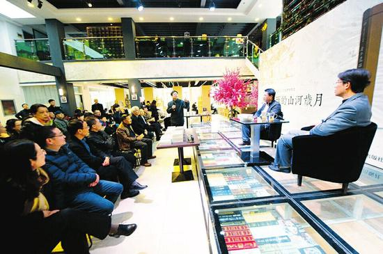 《晋汾遗踪-民国山西游记》读者交流会 摄:杨利