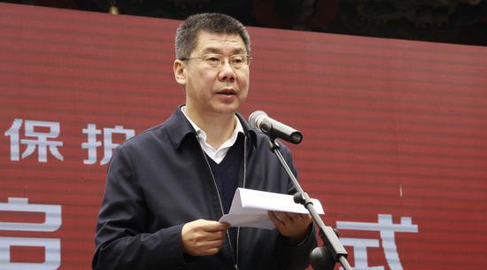 山西省副省长张复明致辞