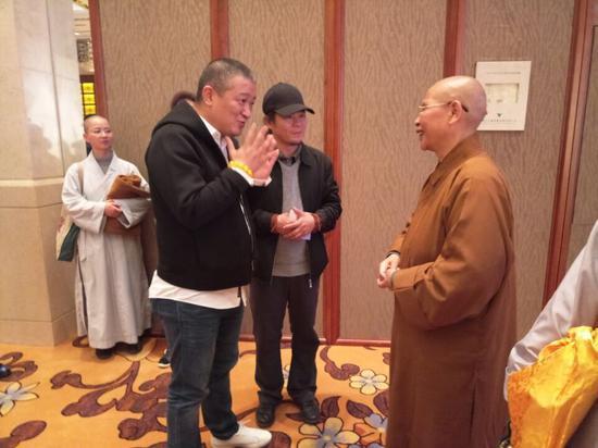 """中国佛教协会副会长、普寿寺尼众佛学院院长如瑞法师与信众谈""""妙智慧"""""""