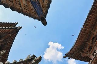 探访榆次城隍庙明代玄鉴楼 领略山西古建之美