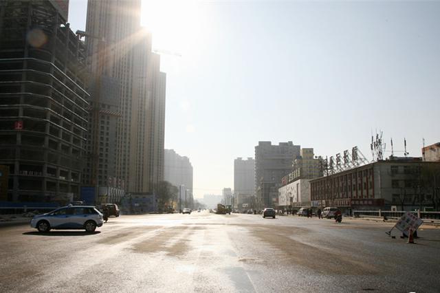 太原府东府西街建设路养护工程全部竣工