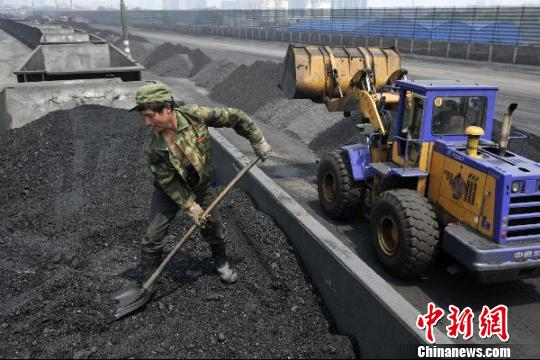 山西5月煤炭进出口大幅增长。 韦亮 摄