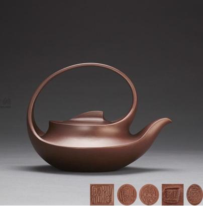 《曲壶》是汪寅仙大师的代表作之一,被中国国家博物馆收藏,获誉如数。