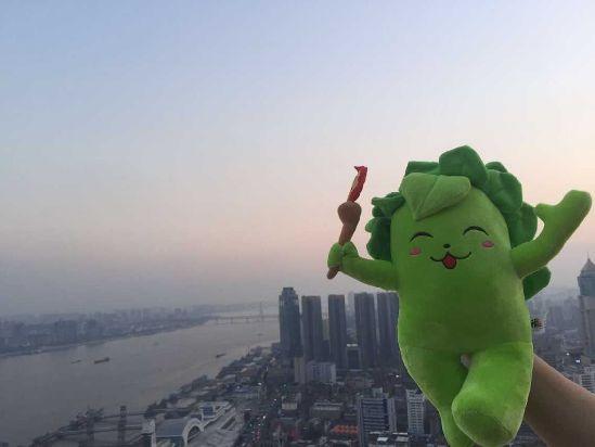 第一届全国青年运动会吉祥物榕榕(网络资料图)