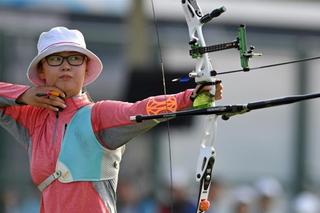 全运会女子射箭个人赛 山西队包揽冠亚军