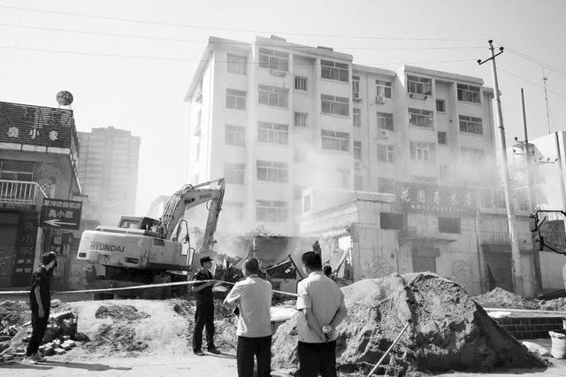 太原昌盛街片区拆除175处违建 市容环境明显改善