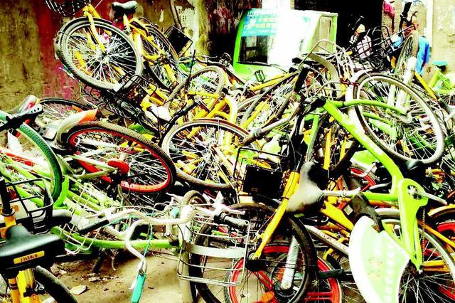 """遇到共享单车挡道 太原市民可拨""""12319""""或客服电话"""