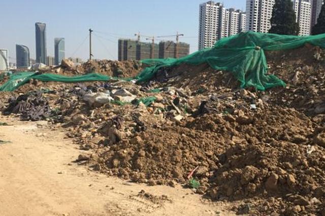 太原迎泽区建筑渣土清零有序推进 已清理三成左右